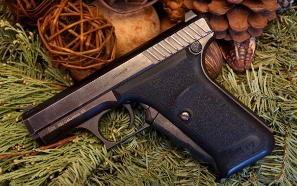 Фото обои оружие, немецкий пистолет, Heckler & Koch