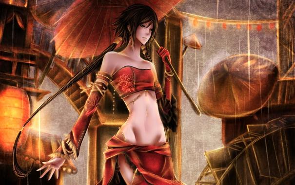 Фото обои clothing, oriental, woman