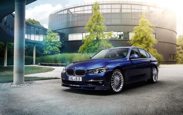 Фото обои бмв, BMW, F30, Alpina, 2015, 3-Series