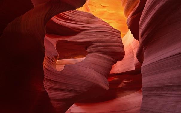 Фото обои горы, скалы, цвет, слой