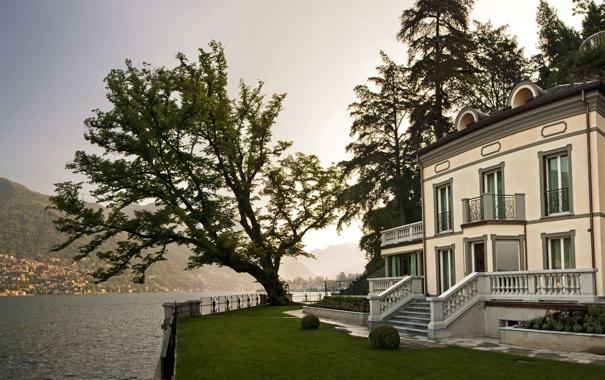 Фото обои дизайн, дом, стиль, вилла, Италия, архитектура, экстерьер