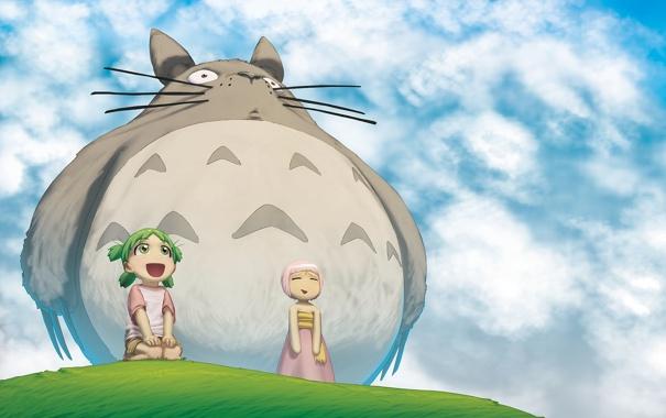 Фото обои мой сосед тоторо, My Neighbor Totoro, Tonari no Totoro