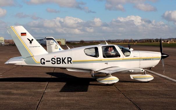 Фото обои самолет, легкий, многоцелевой, француский, TB-10 Tobago
