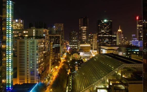 Фото обои city, город, Канада, Ванкувер, Canada, Vancouver