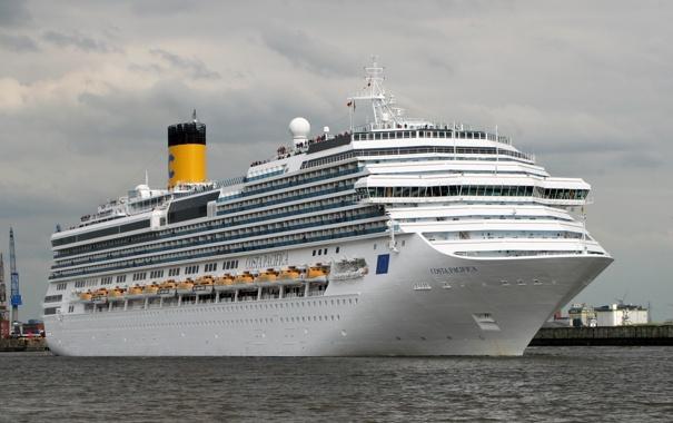 Фото обои фото, корабль, Costa Pacifica, круизный лайнер