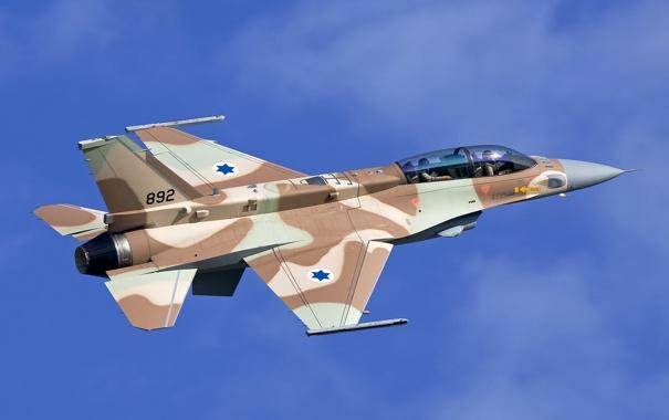 Фото обои полет, истребитель, многоцелевой, F-16I Sufa