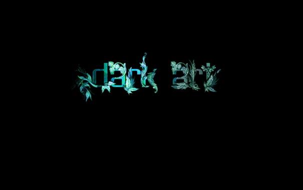 Фото обои dark art, надпись, буквы, слова