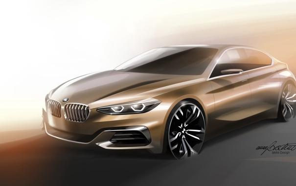 Фото обои Concept, бмв, BMW, Sedan, 1-Series