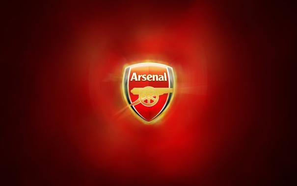 Фото обои red, gold, Arsenal