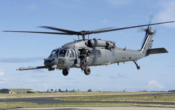 Фото обои вертолет, боевой, HH-60G, Pave Hawk