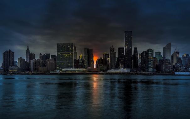 Фото обои New York, Manhattan, Midtown
