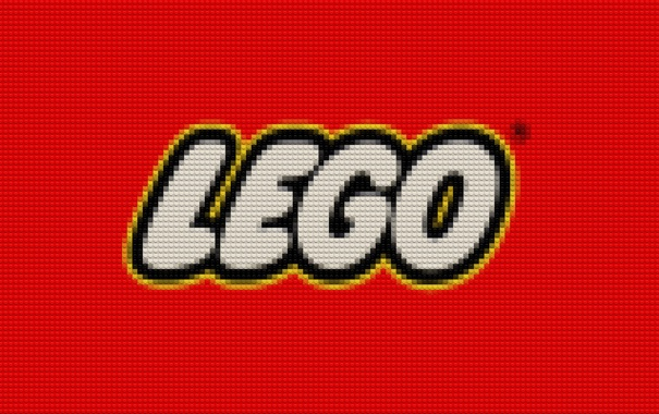 Фото обои кубики, лого, конструктор, Lego