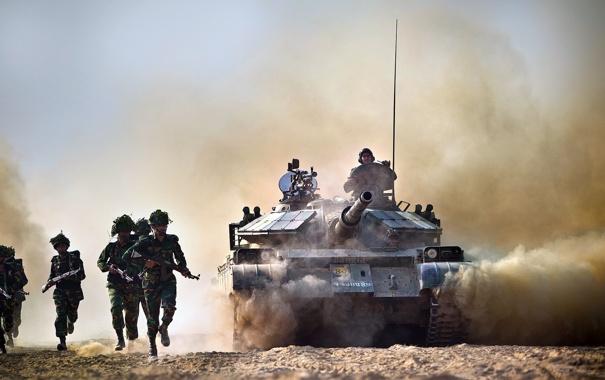 Фото обои оружие, солдаты, танк, Bangladesh Army