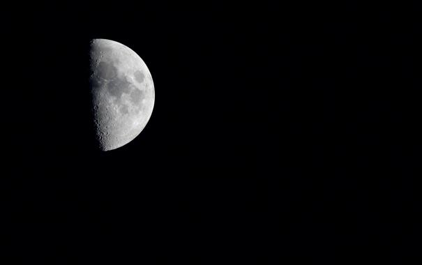 Фото обои ночь, фото, фон, чёрный, обои, луна, пейзажи