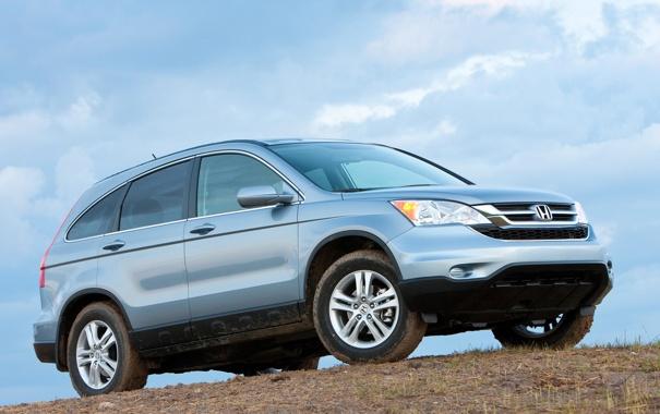 Фото обои внедорожник, Honda, хонда, универсал, CR-V
