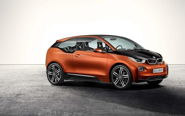 Фото обои concept, BMW, беха, BMW i3, WALLPAPER