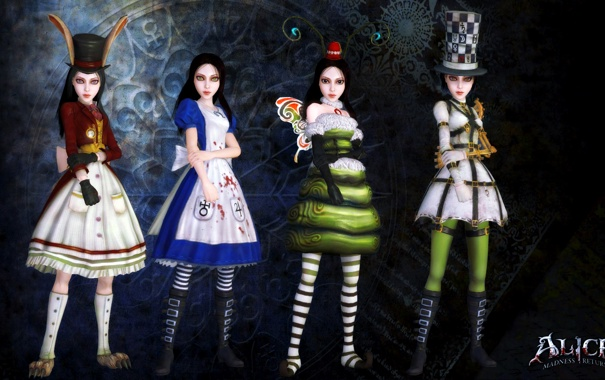 Платья алисы madness