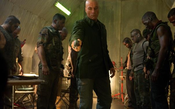 Фото обои Жан-Клод Ван Дамм, Jean-Claude Van Damme, Универсальный солдат 4, Universal Soldier: Day of Reckoning, Luc ...