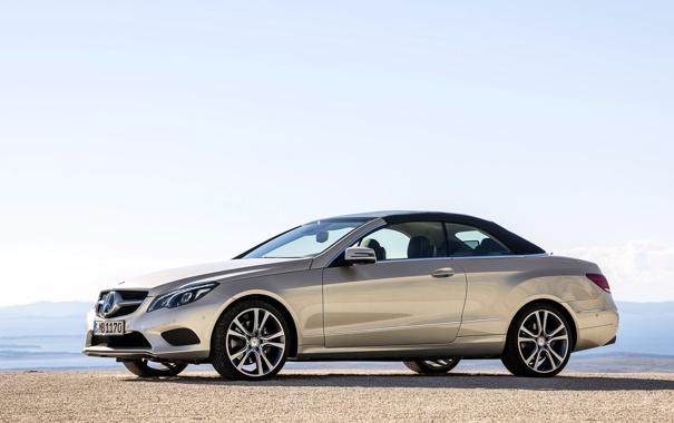 Фото обои Авто, Машина, Мерседес, Кабриолет, День, Mercedes Benz, e-class