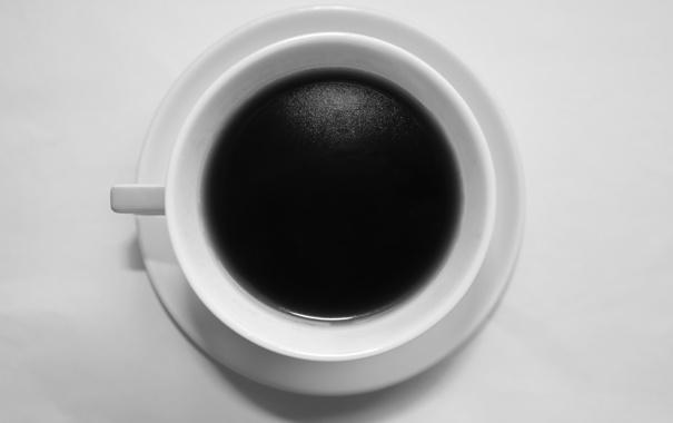 Фото обои белый, стакан, черный, еда, Кофе, кружка, напиток
