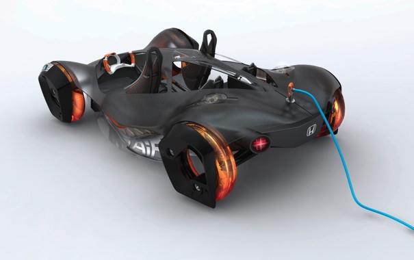 Фото обои Concept, тачки, авто обои, cars, Honda, auto wallpapers, Air