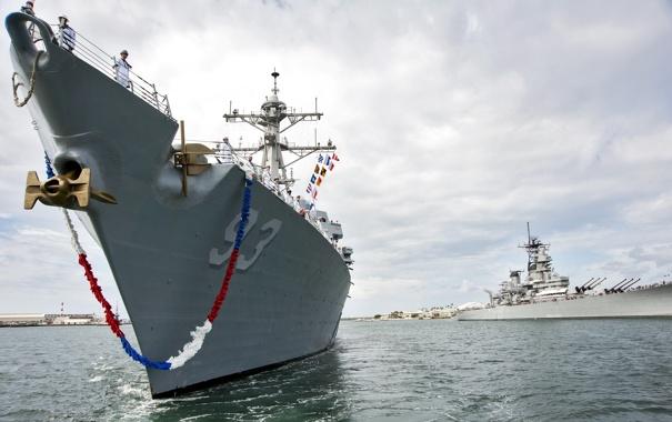 Фото обои оружие, USS Chung-Hoon, PEARL HARBOR
