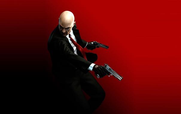Фото обои пистолет, hitman, хитман 5, hitman 5, absolution, хитман, silverballer