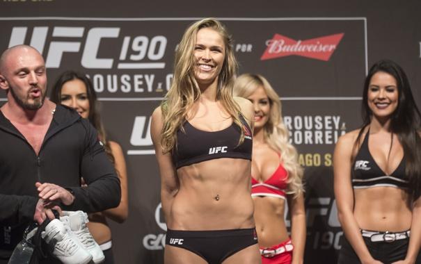 Фото обои Ronda Rousey, MMA UFC, Mixed