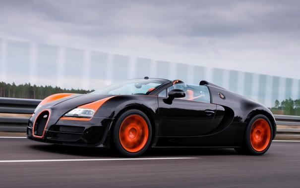 Фото обои Roadster, Bugatti, Veyron, Grand Sport, Vitesse, WRC Edition