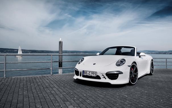 Фото обои 911, Porsche, кабриолет, 2012, порше, каррера, TechArt