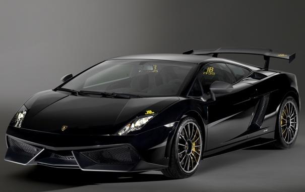 Фото обои car, Lamborghini, Gallardo, black, wallpapers, fon, LP570-4