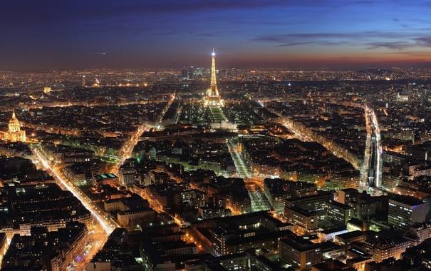 Фото обои Франция, город, Париж