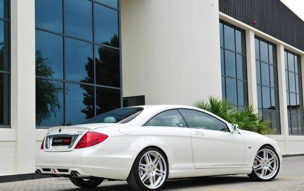 Фото обои car, машина, tuning, 3000x1996, BRABUS 800 Coupe, Mercedes-Benz CL 600