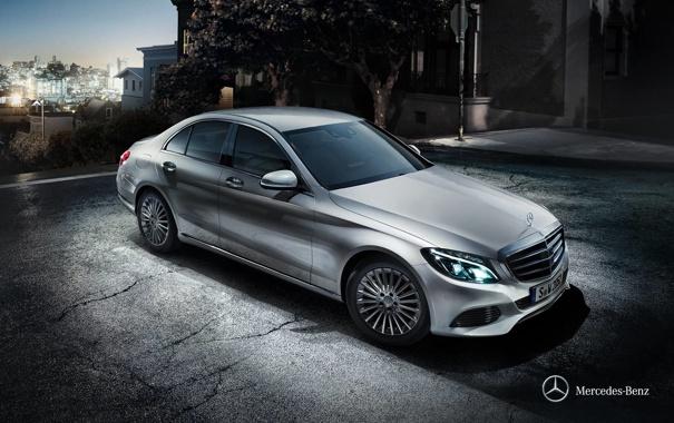 Фото обои Mercedes-Benz, седан, мерседес, Sedan, 2014, C-class, W205