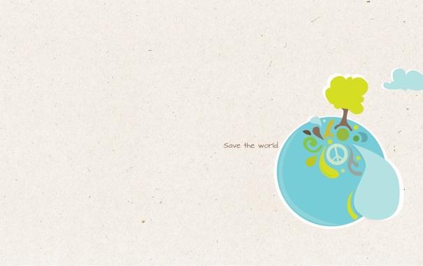 Фото обои вода, стиль, дерево, океан, узоры, краски, мир