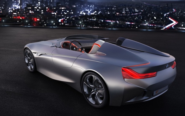 Фото обои BMW, прототип, Vision ConnectedDrive