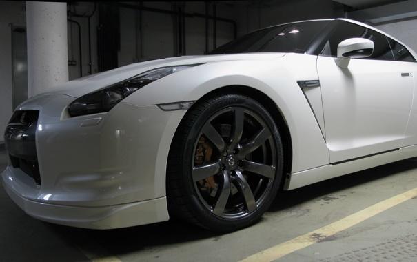Фото обои GTR, Nissan, R-35