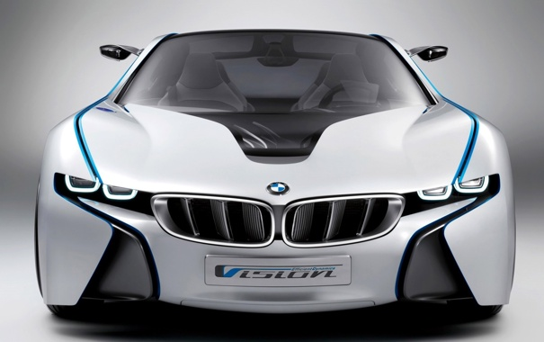 Фото обои BMW, vision, dynamics, efficient