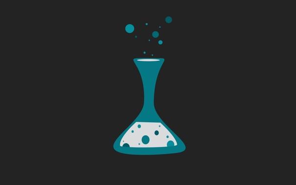 Фото обои шарики, скорость, чёрное, черное, лаборатория, химия, пузырек