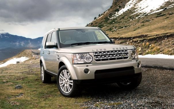 Фото обои Land Rover, 2009, ленд ровер, Discovery 4, дискавери 4