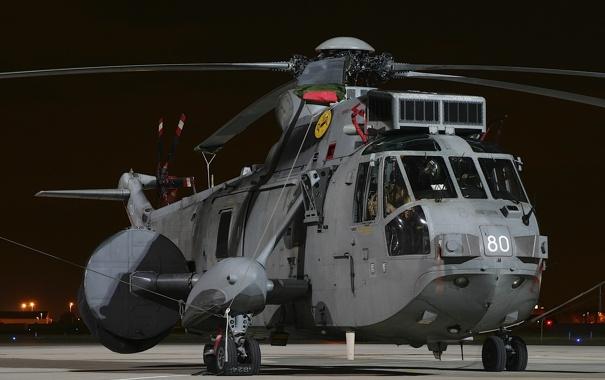 Фото обои вертолёт, транспортный, Sea King, «Си кинг», ASaC.7