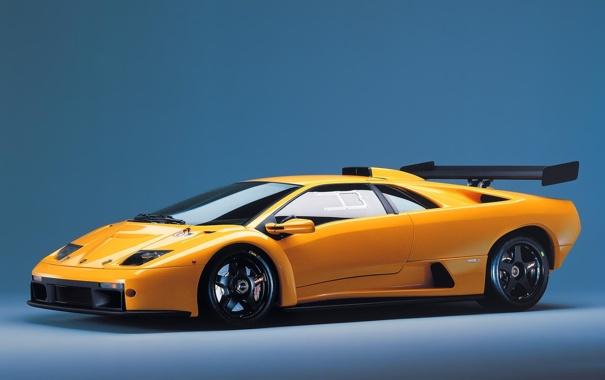 Фото обои Diablo, GTR Race, Lamborghini, Car
