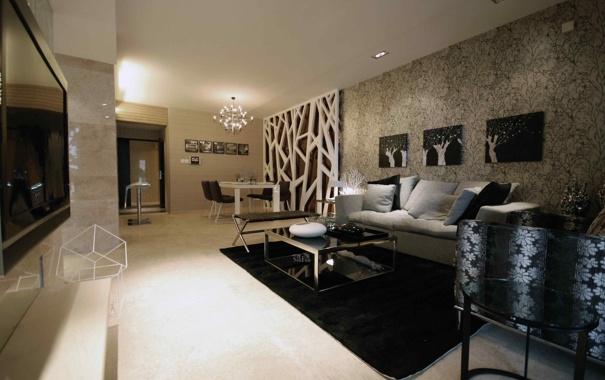 Фото обои style, modern, stylish, furniture, living, interior design, apartment