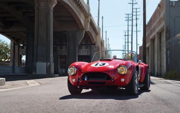 Фото обои Ford, Shelby, суперкар, кобра, форд, классика, шелби