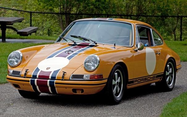 Фото обои купе, 911, Porsche, суперкар, Порше, классика, Coupe