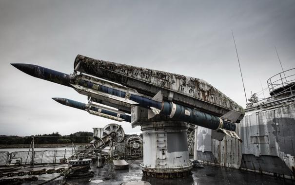 Фото обои оружие, корабль, ракеты