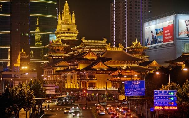 Фото обои city, город, China, Китай, Шанхай, Shangai