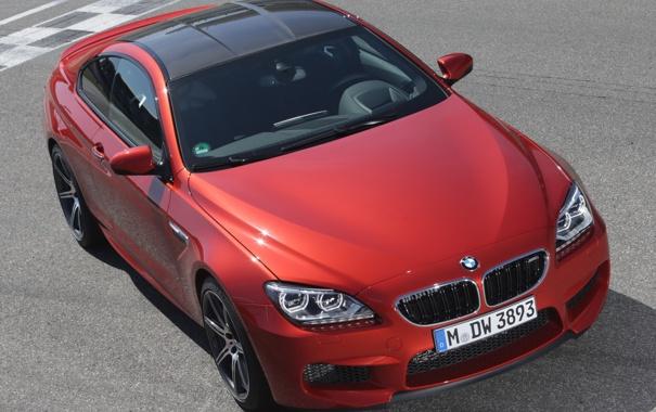 Фото обои машина, капот, BMW, Coupe, передок, front, Competition Package