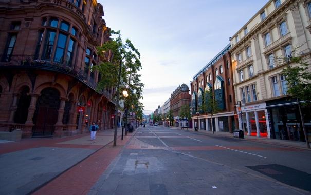Фото обои город, Belfast, Северная Ирландия, Белфаст