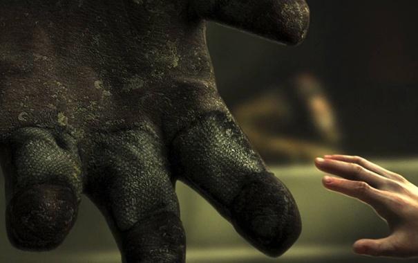 Фото обои girl, bioshock, hands, suit
